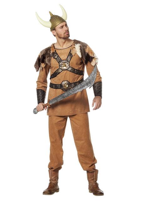 Disfraz de vikingo guerrero para hombre - hombre
