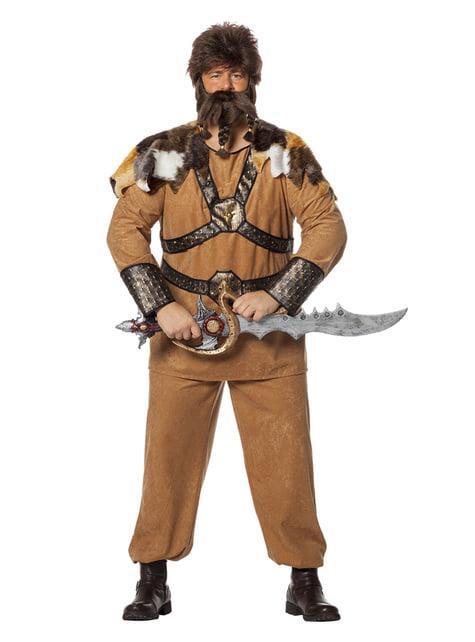 Disfraz de vikingo guerrero para hombre - original