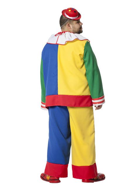 Clown costume for men