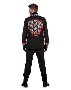 Costum Ziua Morților negru pentru bărbat