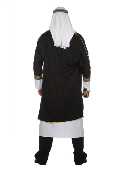 White Arabian Sheik costume for men