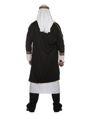 Hvid arabisk sheik kostume til mænd