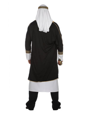 White Arabian Sheik costume for men