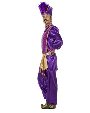 Purple Sultan Costume for Men