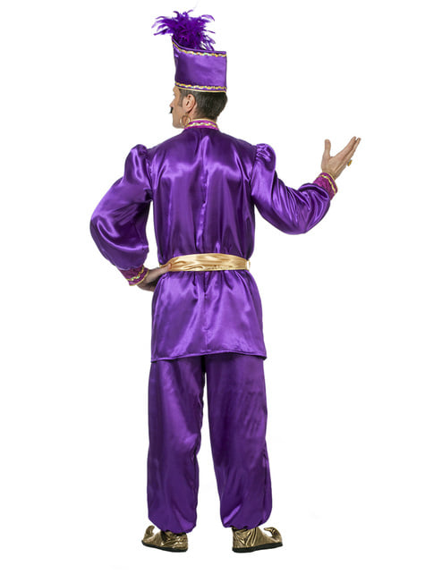 Purple Sultan Costume for Men