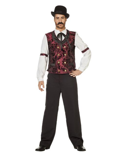 Disfraz de camarero western para hombre - hombre