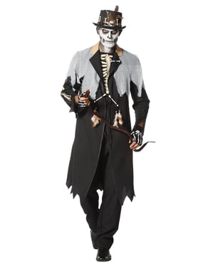 Maskeraddräkt kung Voodoo vuxen