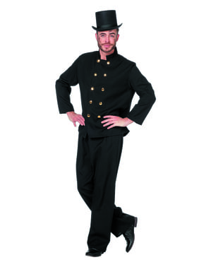 Chimney sweep costume for men