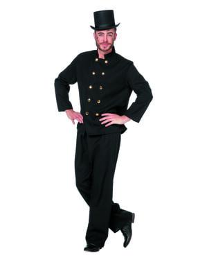 Skorstensfejer kostume til mænd