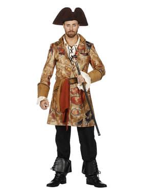 Schat zoekende piraat kostuum voor mannen