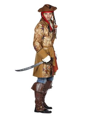 Treasure hunting pirate costume for men