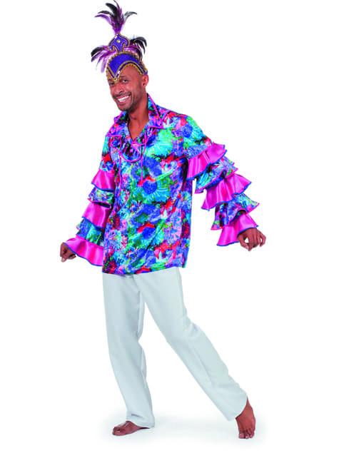 Camisa de Cuba tradicional para hombre