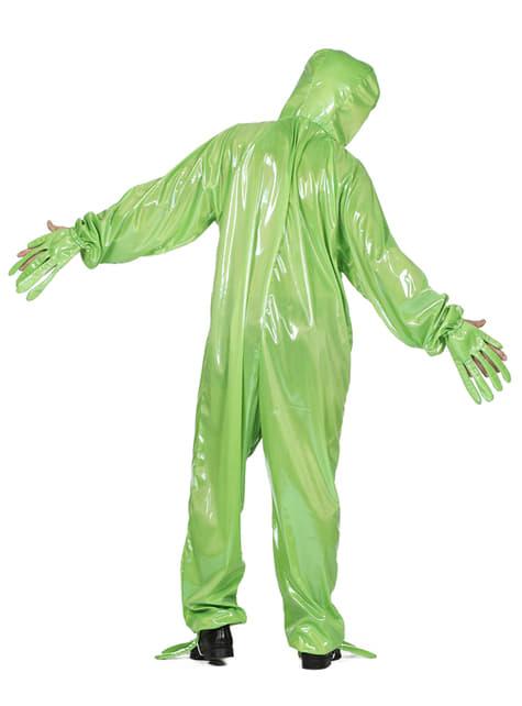 Disfraz de Alien verde para adulto - original