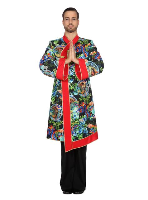 Déguisement moine asiatique homme
