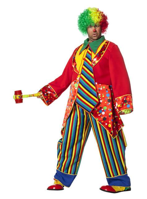 Lustiges Clown Kostüm für Herren