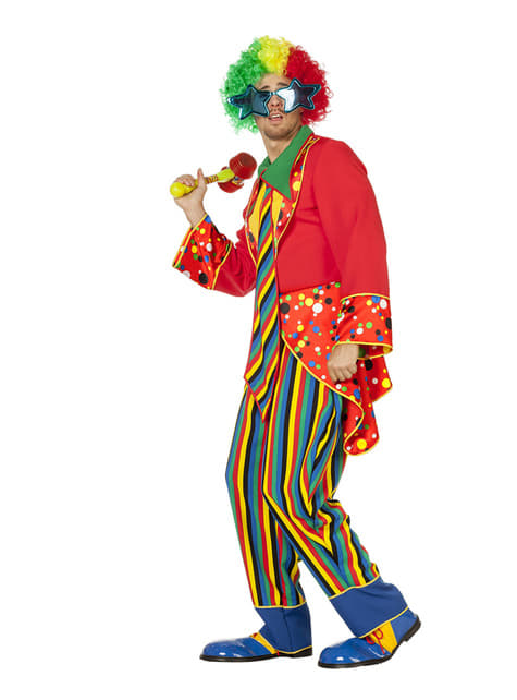 Disfraz de payaso divertido para hombre - hombre