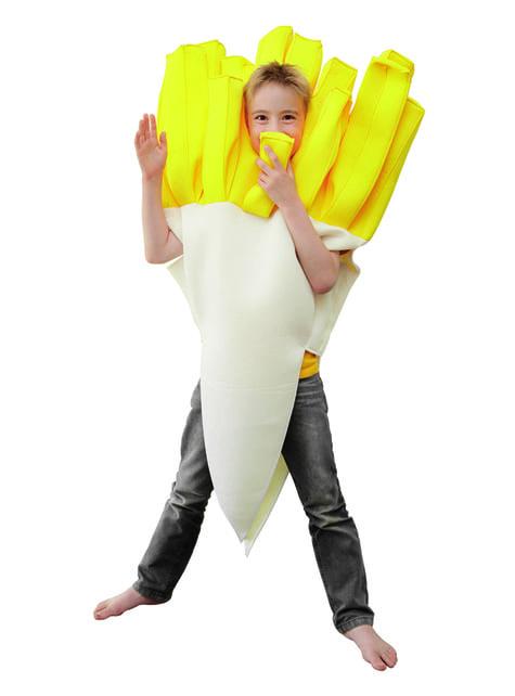 Disfraz de patatas fritas infantil