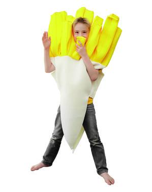 Costum cartofi prăjiți pentru copii