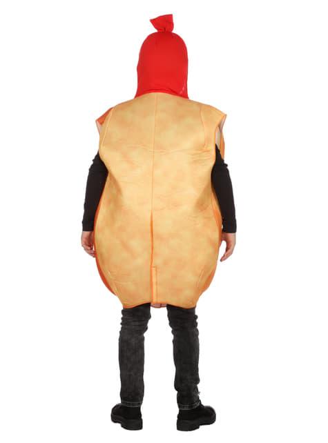 Disfraz de perrito caliente infantil - traje