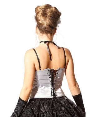 Corset de schelet gri pentru femeie
