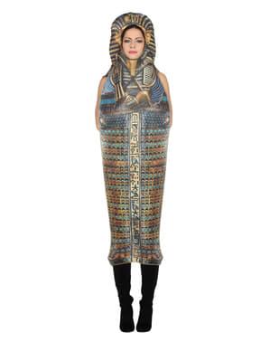 Toetanchamon sarcofaag kostuum voor volwassenen