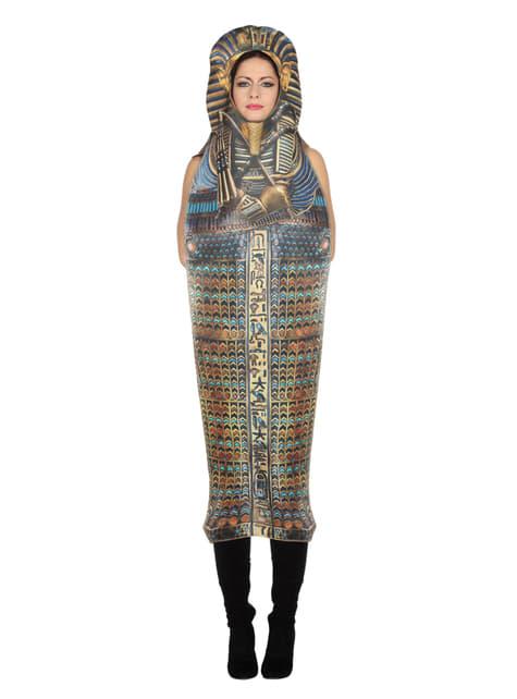 Disfraz de sarcófago de Tutankamón para adulto - adulto