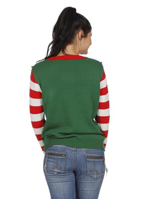 Jersey de elfo verde para adulto - original