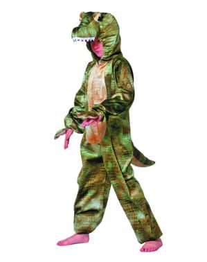 Maskeraddräkt skrämmande krokodil för barn