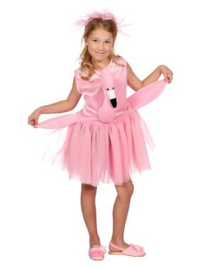Pinkki flamingoasu lapsille
