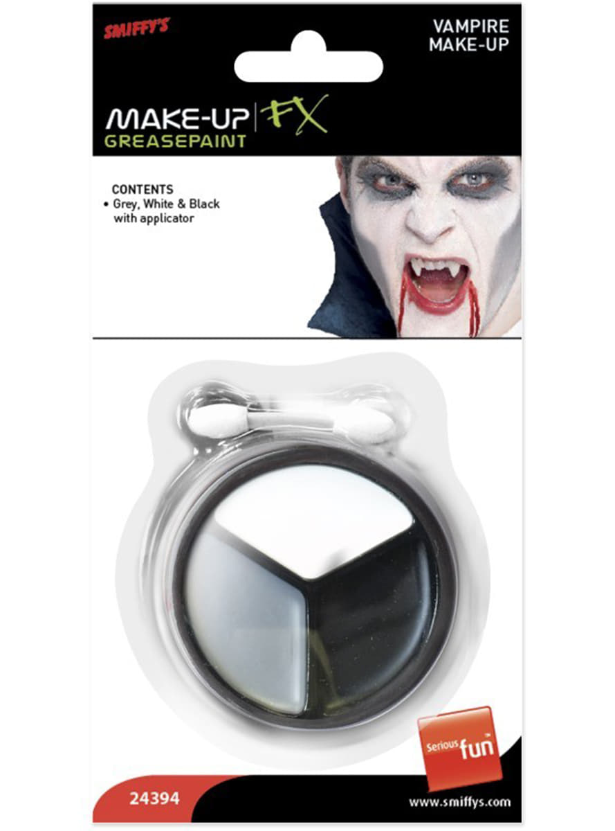 maquillaje fx greasepaint kit vampiro