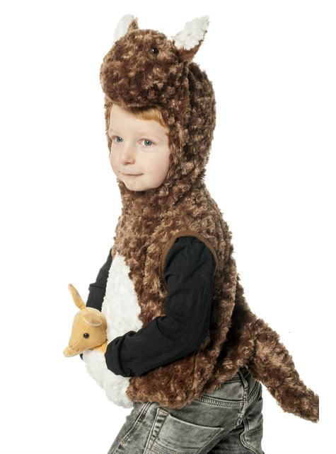 Brown kangaroo costume for babies