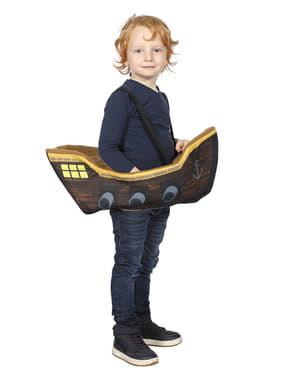 Båd sejler ridder kostue til børn