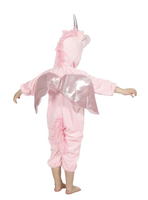 Pink unicorn costume for kids