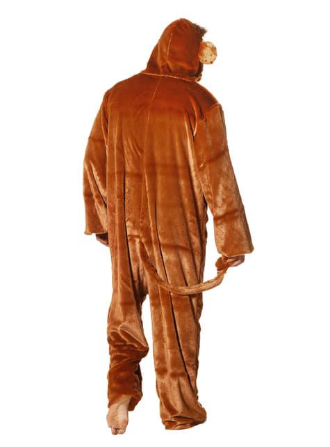 Affen Onesie Kostüm für Erwachsene