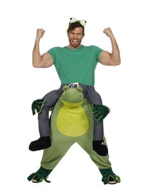 Piggyback Frog Costume for Adults