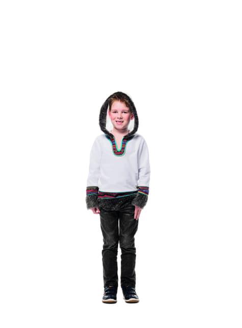 White eskimo costume for boys