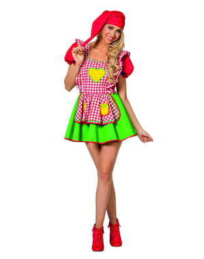 Elf costume for women