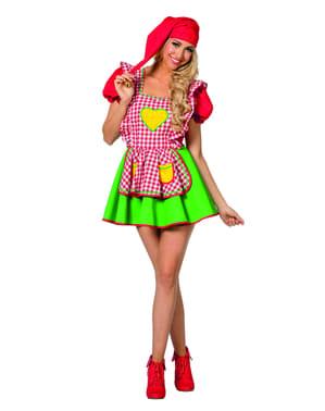 Kostým pre škriatkov pre ženy