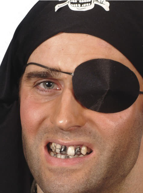 FX μαύρα δόντια αποτέλεσμα μακιγιάζ