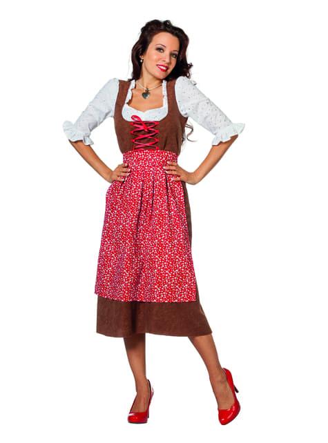 Innkeeper costume for women