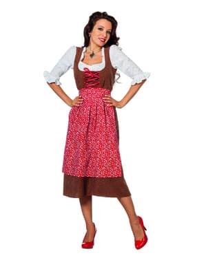 Herbergier kostuum voor vrouw