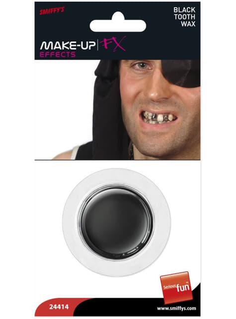 Schminke FX Effekt schwarze Zähne