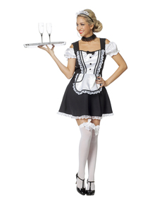 Elegant French Maid Costume For Women ...