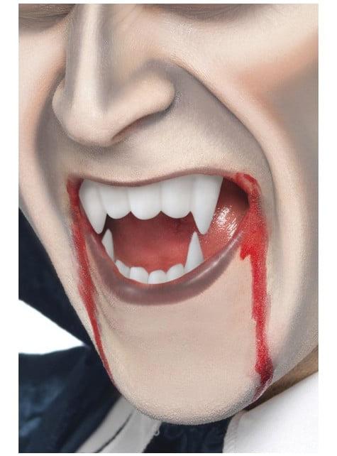 Maquillaje FX efecto sangre y colmillos