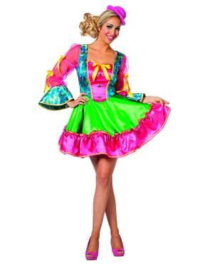 महिलाओं के लिए गुलाबी लहंगा पोशाक