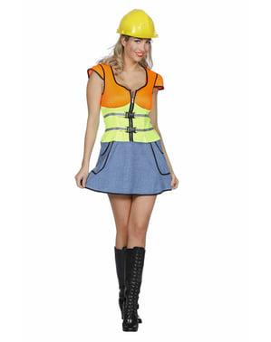 Disfraz de constructor para mujer