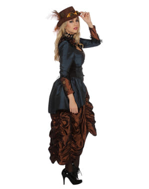 Costume di Steampunk marrone per donna