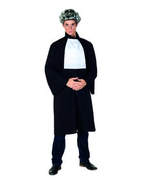 Richter Kostüm schwarz für Herren