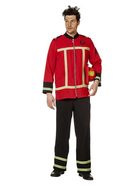 Disfraz de bombero para hombre