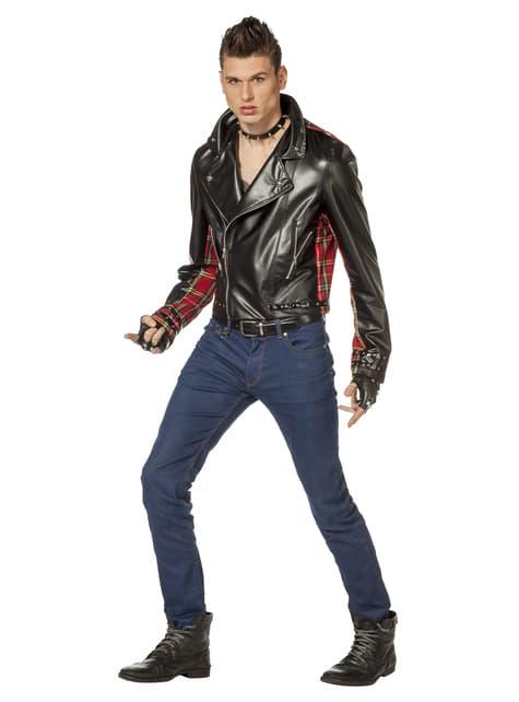 Punk jacket for men